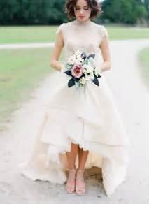 wedding dresses high low top 25 high low wedding dresses deer pearl flowers