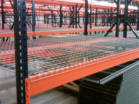 used pallet rack pallet rack and wire decking nc teardrop pallet