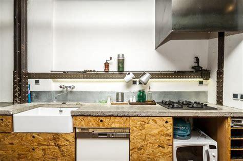 cuisine osb cuisine avec façade en osb