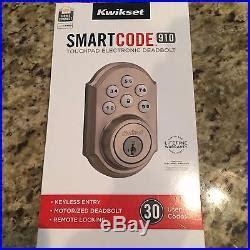 adt door lock new kwikset smartcode 910 deadbolt door lock nickel zwave