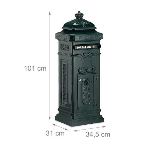 cassetta della posta in inglese cassetta postale da esterno stile inglese antico