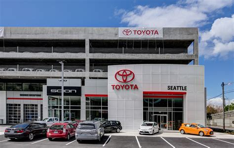Toyota Dealership by Seattle Djc Local Business News And Data