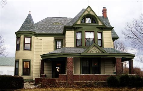 Victorian House Color Schemes Exterior Roof HOUSE STYLE