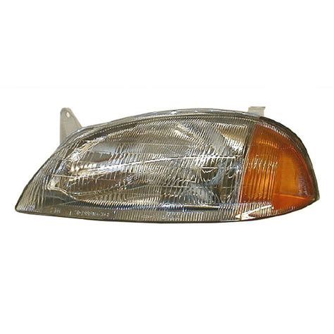 headlight headl driver side left lh for 95 97 geo metro