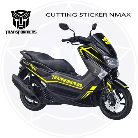 Modifikasi Motor N Max by 56 Modifikasi Stiker Motor Nmax Modifikasi Yamah Nmax
