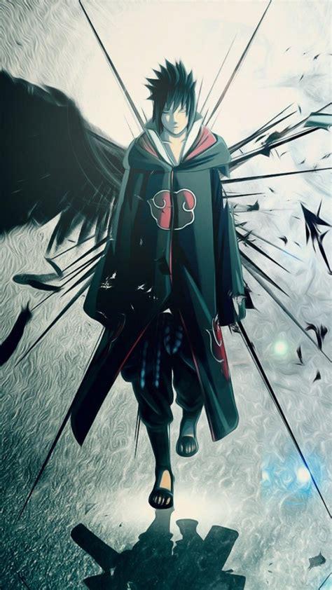 uchiha sasuke naruto shippuden akatsuki wallpaper