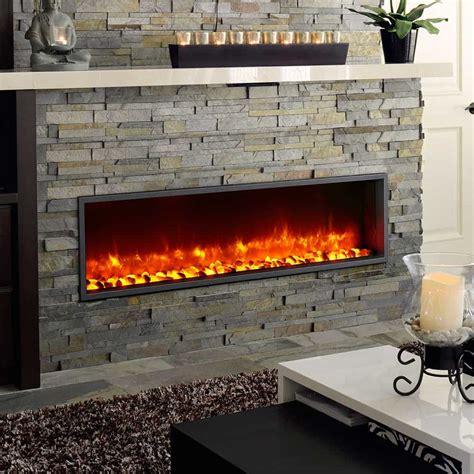 linear fireplaces  toronto stylish fireplaces