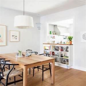 Cuisine Ouverte Salon : une cuisine semi ouverte avec un passe plat travaux ~ Voncanada.com Idées de Décoration