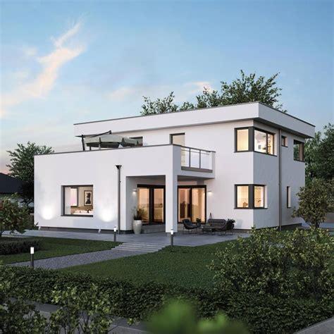 Haus Kosten by Elk Haus 186 Mit Flachdach Im Bauhausstil Elk Fertighaus