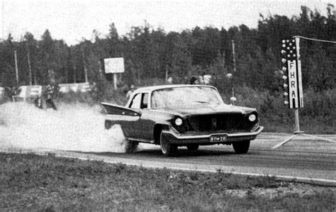 drag racing photo  finland  chrysler newport