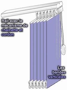 Store à Lamelles Verticales : store lamelles bandes verticales bois et conseils ~ Premium-room.com Idées de Décoration