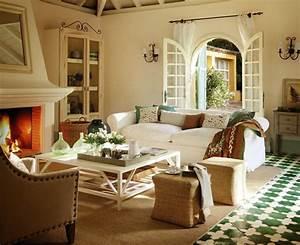 Wohnzimmer Einrichten Gemütlich : 63 wohnzimmer landhausstil das wohnzimmer gem tlich gestalten ~ Indierocktalk.com Haus und Dekorationen