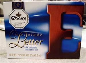 a blog by leslie k brown aka miscellany With dutch chocolate letters droste