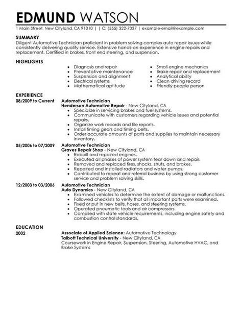 Technician Resume Objective by Certified Laser Technician Resume Fiber Optics Technician