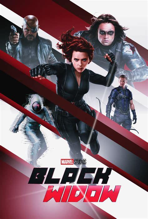 Black Widow (2020) (Fan Poster made by me) | Black widow ...