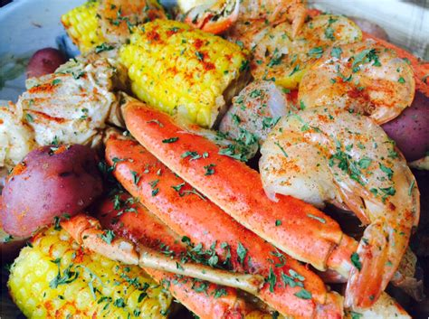 how to boil crab legs in a pot seafood boil with instant pot jumbo shrimp crab legs sweet sausage corn on the cob and red