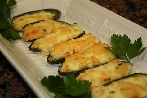 Baked Stuffed Jalapeno Peppers Recipe