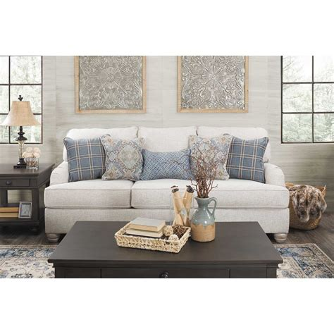 Linen And Loveseat by Traemore Linen Sofa 2740338 Furniture Afw