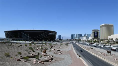 Raiders announce first season in Las Vegas will be without ...
