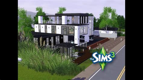 Sims 3  Haus Bauen  Let's Build  Großes, Modernes Haus