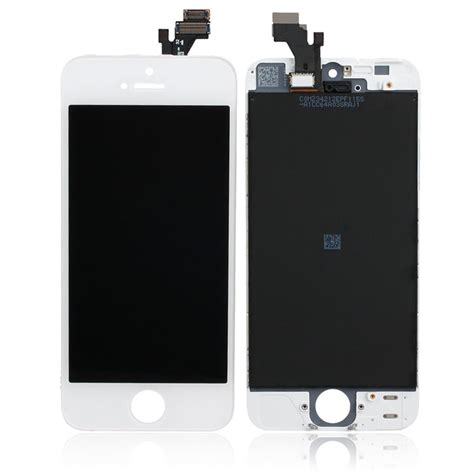 iphone 5 lcd screen white lcd display touch screen digitizer glass assembly