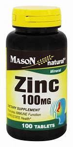 Buy Mason Natural - Zinc 100 Mg
