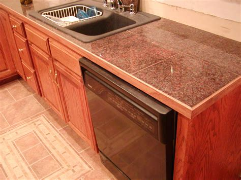 ideas for decorating kitchen countertops superb granite tile countertops decorating ideas