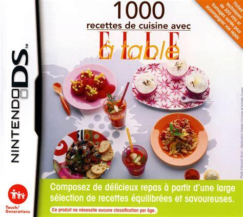 jeux de recette de cuisine acheter 1000 recettes de cuisine avec a table jeux