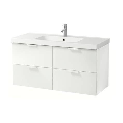 ikea godmorgon vessel sink godmorgon odensvik sink cabinet with 4 drawers white