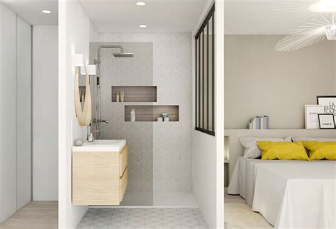 amenagement chambre 20m2 un bain de lumière aménagement rénovation appartement