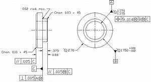 Machine Shop 2 - Lathe Operations - Project 4-1 Drawing
