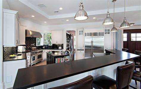 Black And White Kitchens Ideas, Photos, Inspirations. Kitchen Paint Colors With Dark Oak Cabinets. Lazy Granite Tile For Kitchen Countertops. White Kitchen Cabinets Backsplash Ideas. White Kitchens With Black Countertops. Kitchen Floor Mop. White Kitchen Backsplash Pictures. Water Damaged Kitchen Floor. Best Tile For Kitchen Backsplash