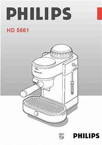 Philips Hd 5661 Coffee Maker Download Manual For Free Now