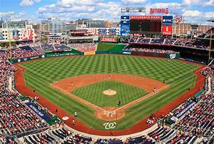 Baseball Day Game Washington Nationals Editorial Stock ...