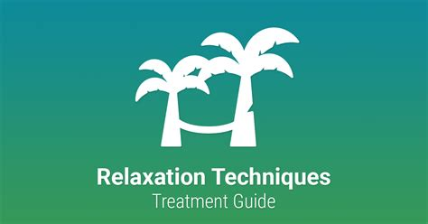 relaxation techniques guide therapist aid