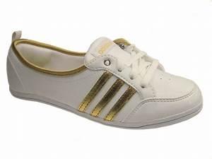 Best Adidas Piona Bling Weiß Damen Schuhe Ballerinas Bella Esa