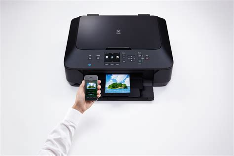 how to print from smartphone canon pixma mg6450 all in one wi fi printer bronze