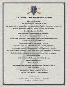 Army Infantryman's Creed