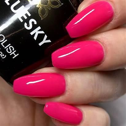Gel Polish Nail Bluesky Neon Uv Led
