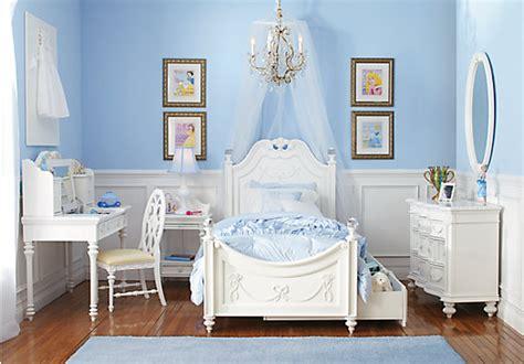 Disney Princess White Pc Twin Poster Bedroom-disney