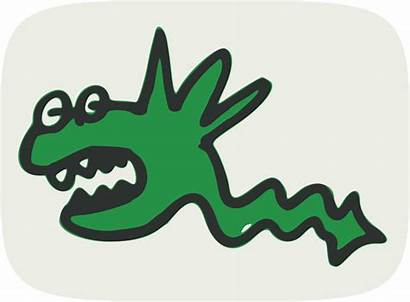 Monster Funny Clipart Clip Publicdomainfiles Domain Copyright