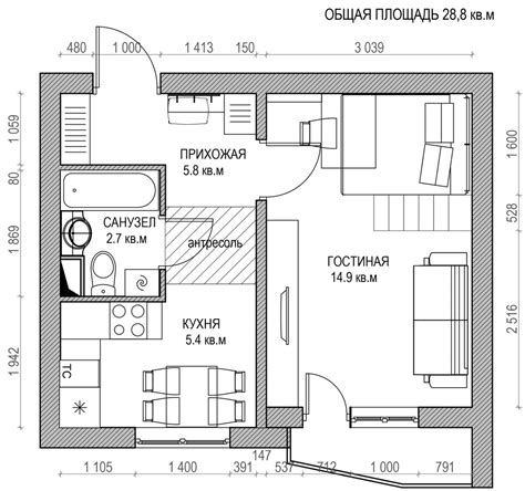 floor plan ideas 6 beautiful home designs 30 square meters with