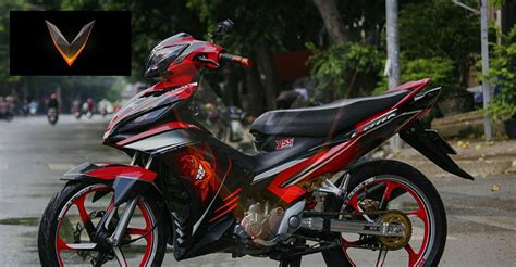 Yamaha Sniper Mx 135 In Red Decals...