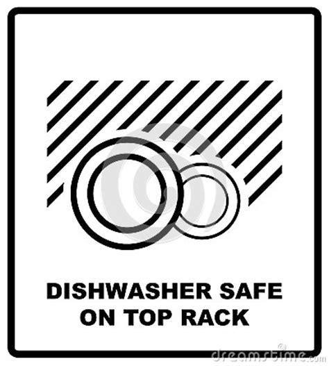 coffre fort de lave vaisselle sur le symbole sup 233 rieur de support d isolement signe s 251 r de lave