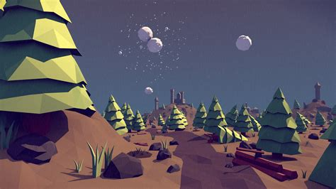 wallpaper fox low poly 3d polygon wallpaper abstract polygon landscape nature Wallp