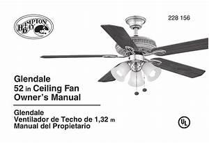 Hampton Bay Ceiling Fan Manual