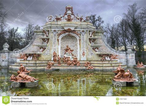 la fontaine aux cuisines fontaine aux jardins de la la granja de san ildefonso