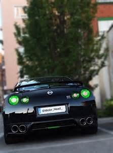 Green Nissan Gtr