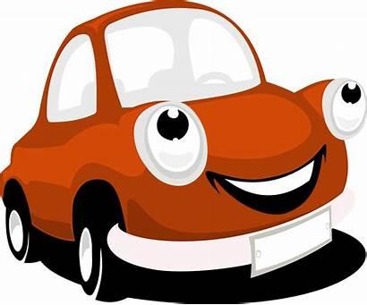Cars Clipart Clipartix Cartoon Transparent Cliparts Face