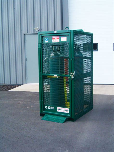 gas cylinder cages cylinder racks lakeshore industrial